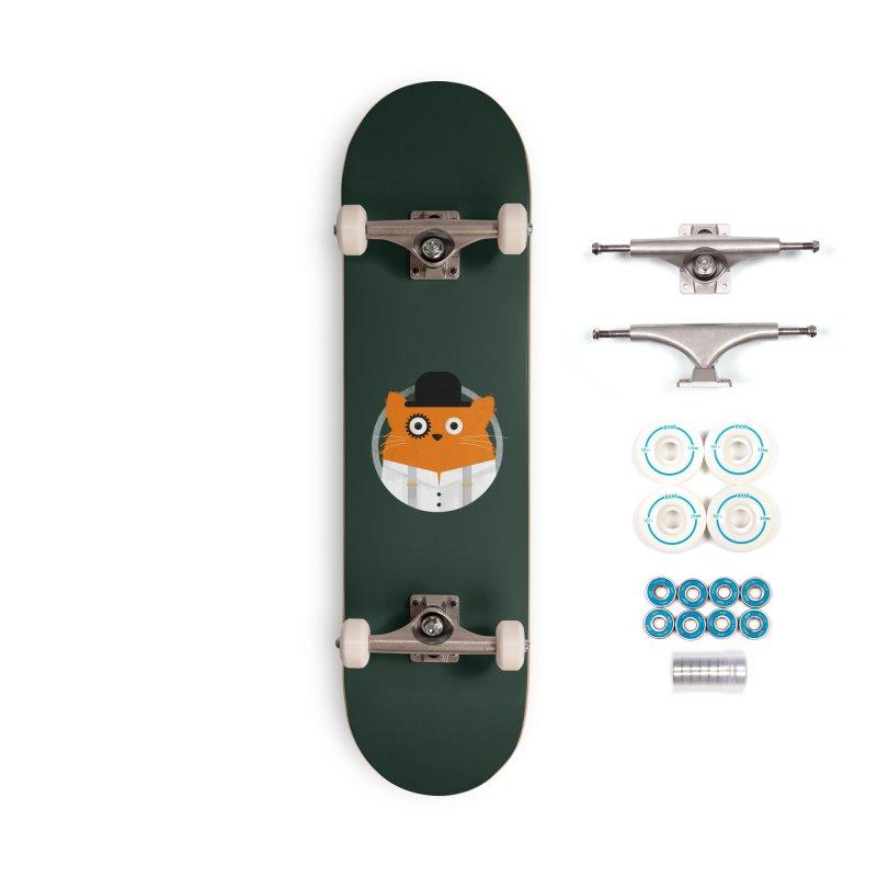 Cat Clockwork Accessories Skateboard by DOOZAL