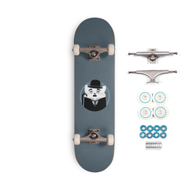 Cat Chaplin Accessories Skateboard by DOOZAL