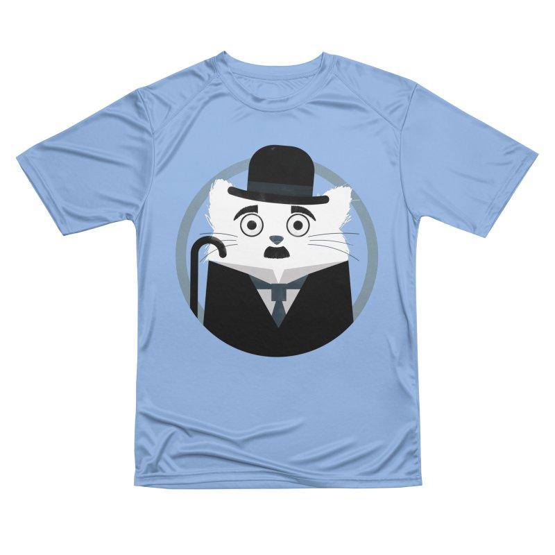 Cat Chaplin Men's T-Shirt by DOOZAL
