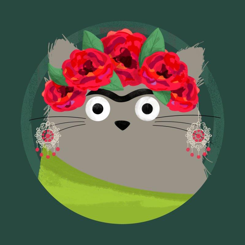 Cat Frida Women's T-Shirt by DOOZAL