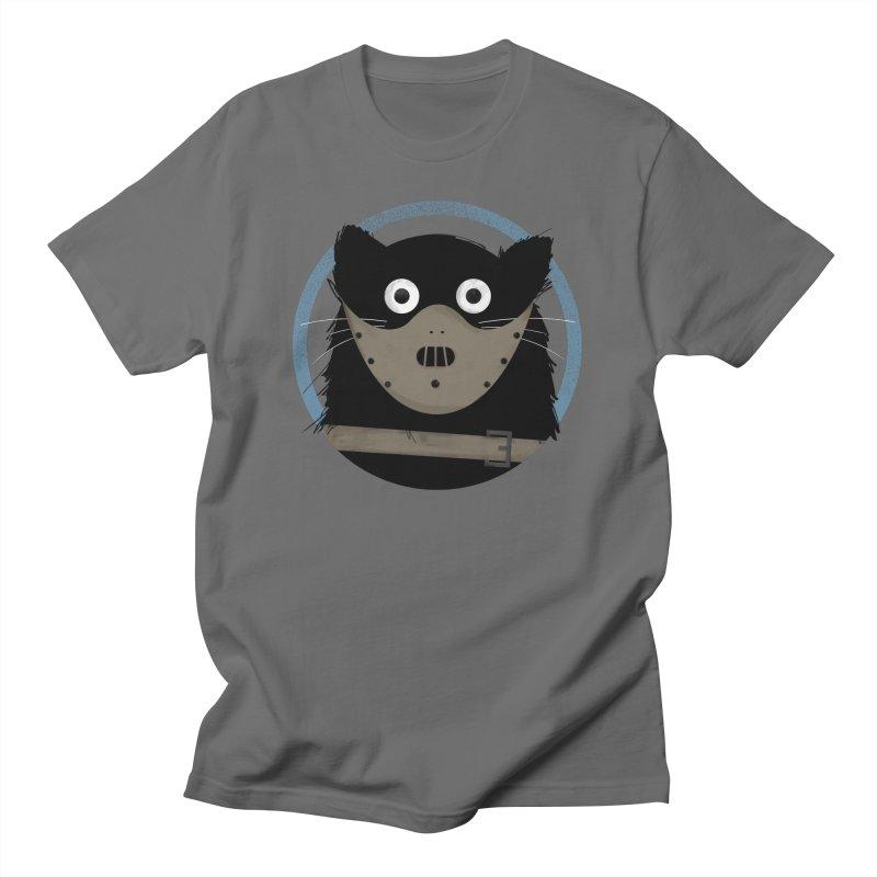 Cat Hannibal Men's T-Shirt by DOOZAL