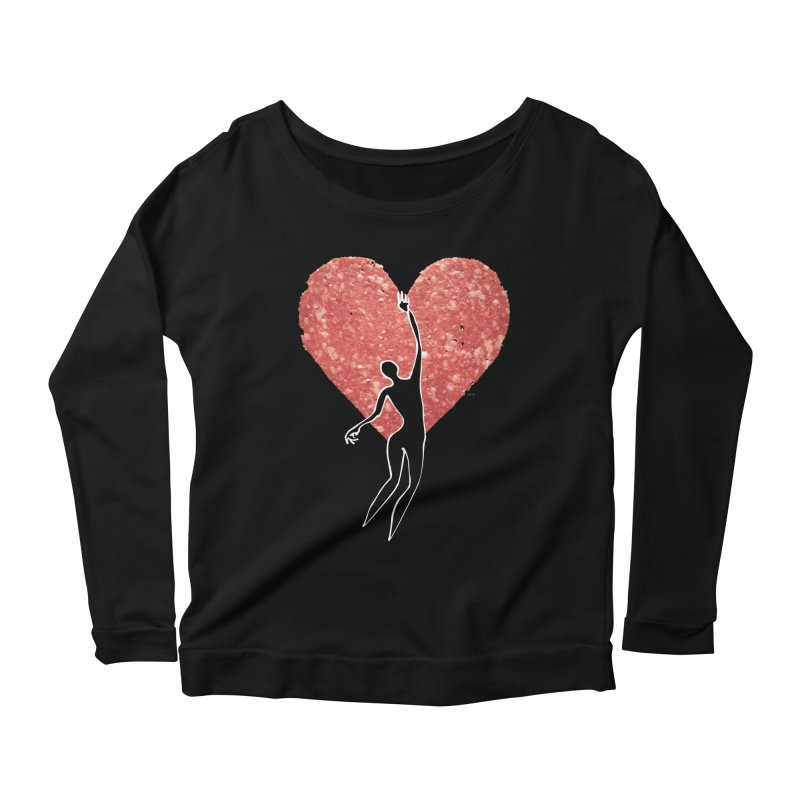 Need Women's Scoop Neck Longsleeve T-Shirt by Dorian Denes' Artist Shop