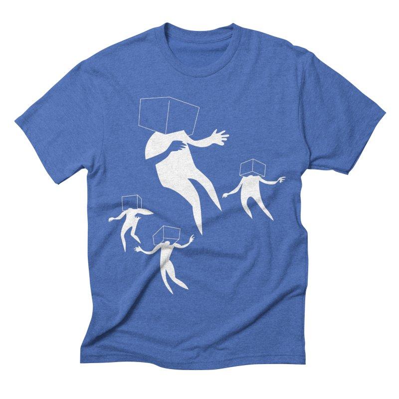 Portal 01 Men's Triblend T-shirt by Dorian Denes' Artist Shop