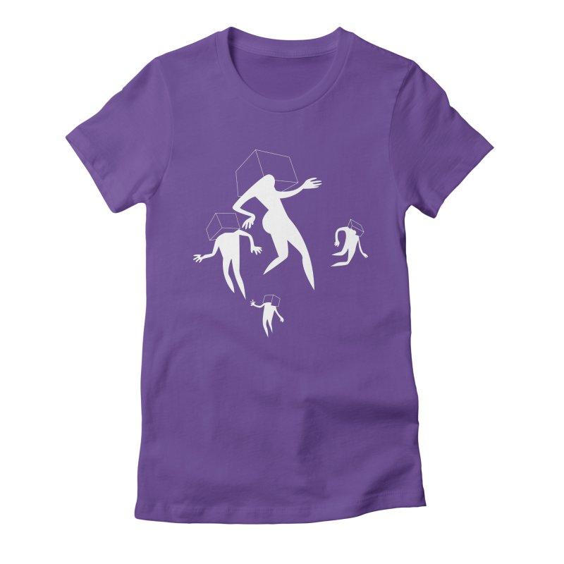 Portal 02 Women's Fitted T-Shirt by Dorian Denes' Artist Shop