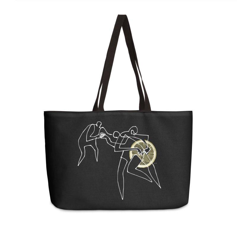 Enhancer 02 Accessories Weekender Bag Bag by Dorian Denes' Artist Shop