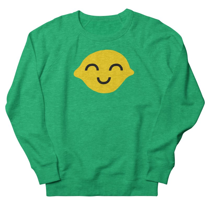 very lucky lemon Women's French Terry Sweatshirt by dorobot