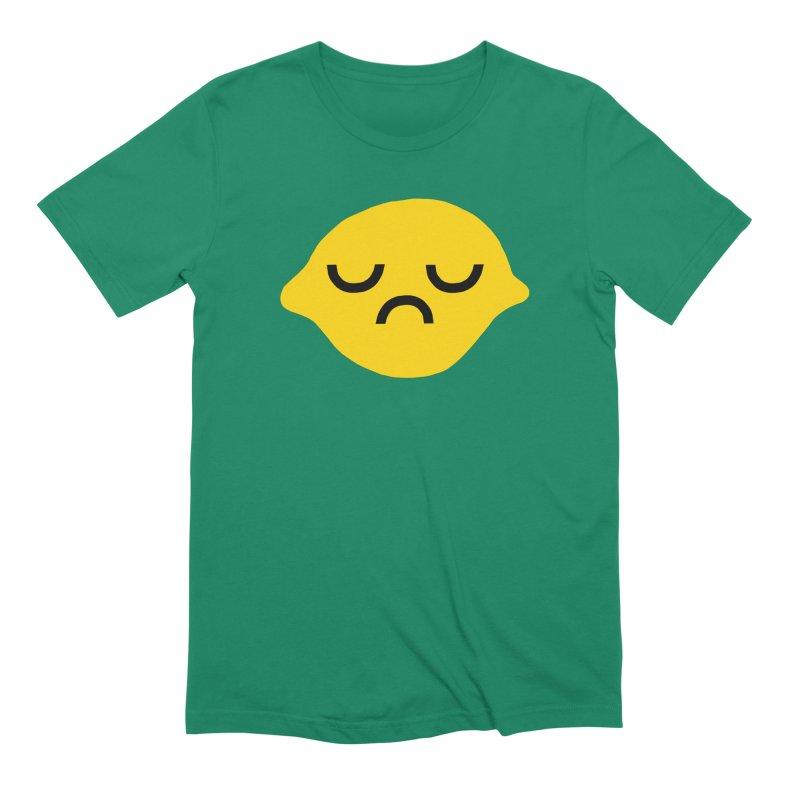 grumpy lemon Men's T-Shirt by dorobot
