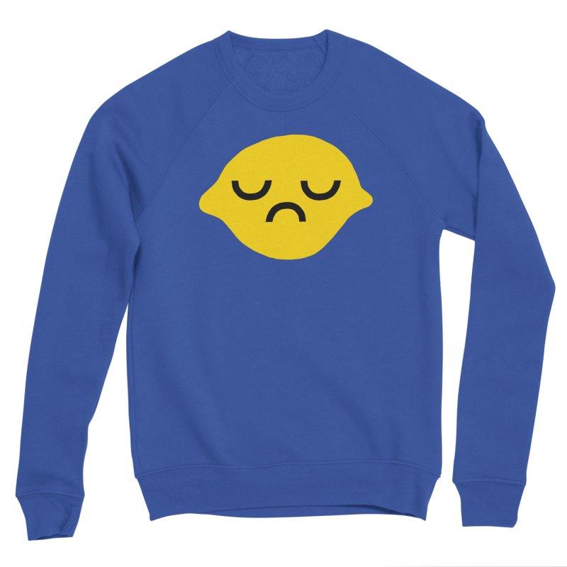 grumpy lemon Men's Sweatshirt by dorobot