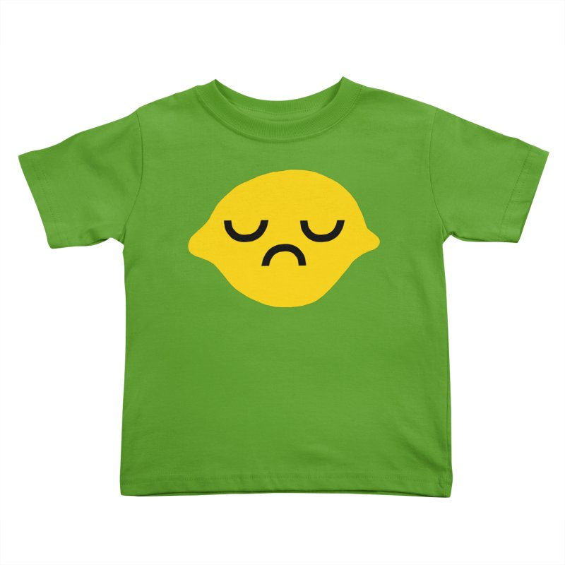 grumpy lemon Kids Toddler T-Shirt by dorobot
