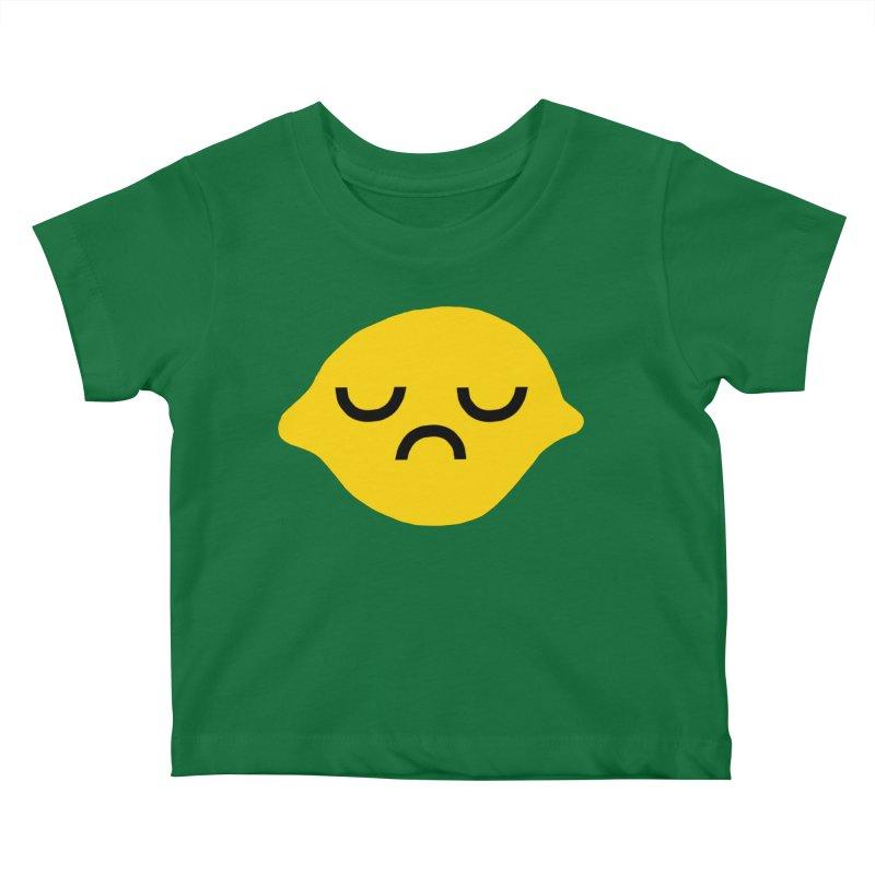 grumpy lemon Kids Baby T-Shirt by dorobot