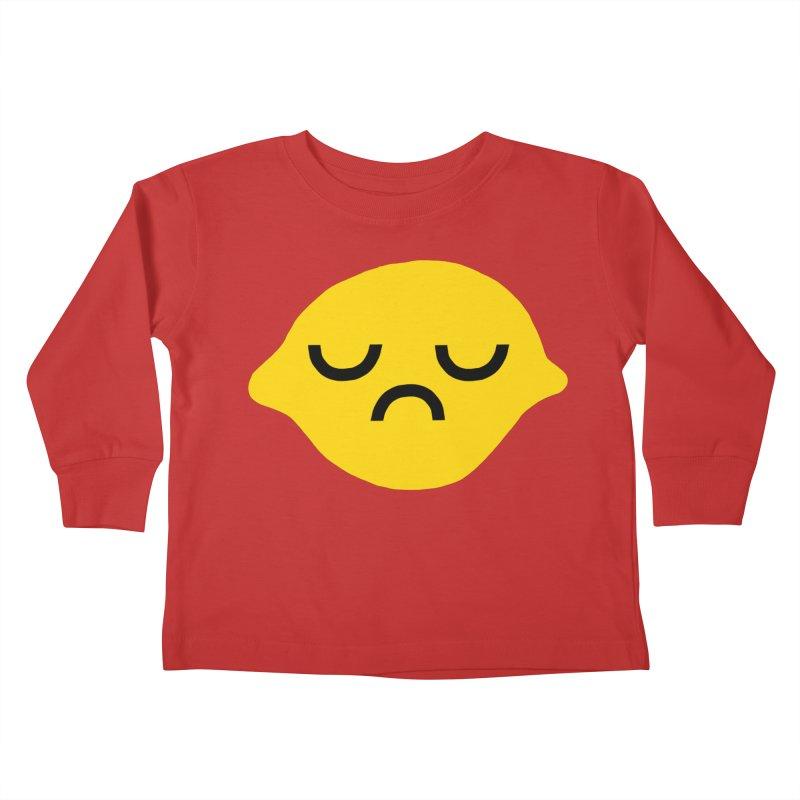 grumpy lemon Kids Toddler Longsleeve T-Shirt by dorobot