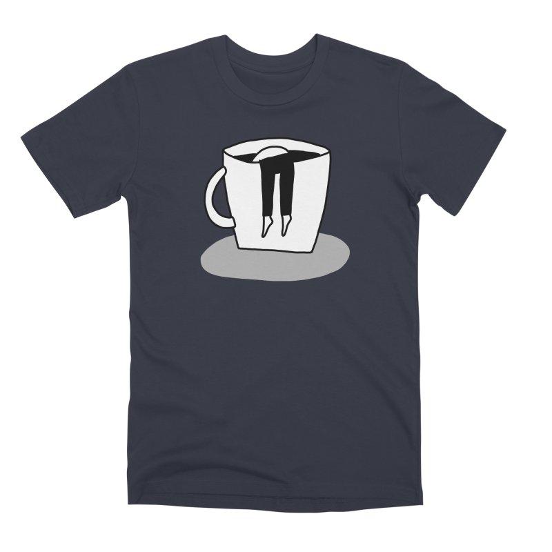 coffee nap Men's T-Shirt by dorobot
