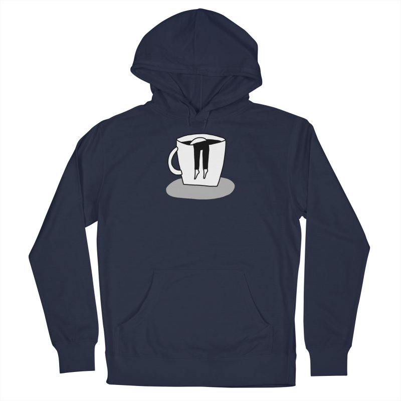 coffee nap Men's Pullover Hoody by dorobot