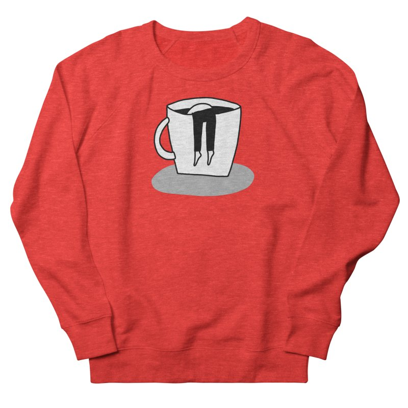 coffee nap Women's Sweatshirt by dorobot