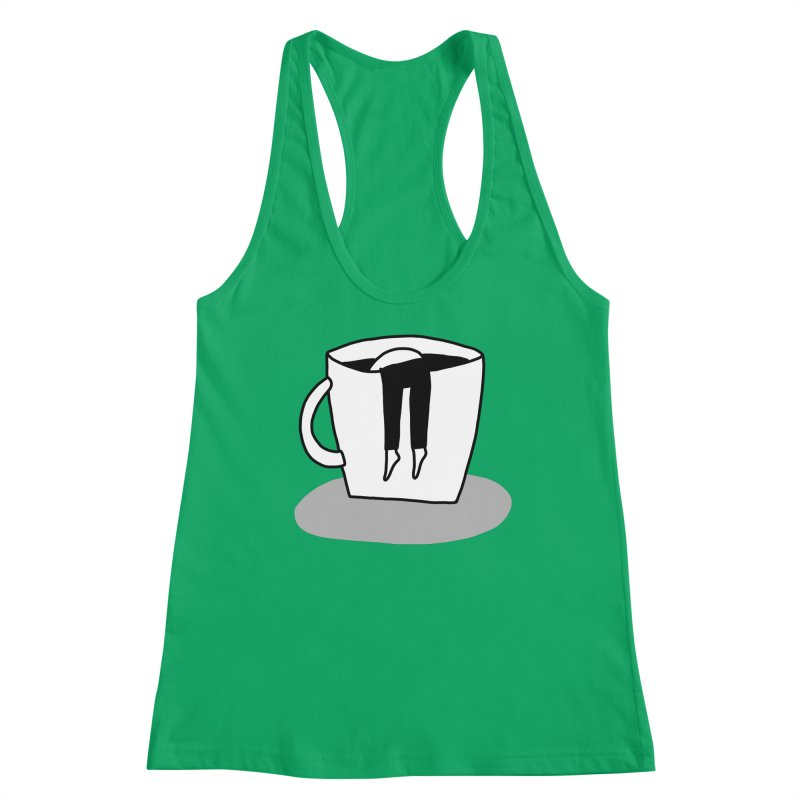 coffee nap Women's Tank by dorobot