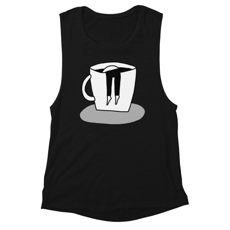 coffee nap Women's Tank by dorobot