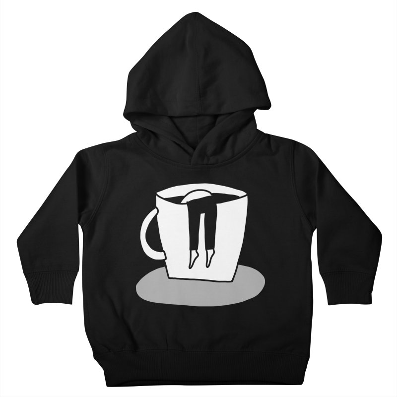 coffee nap Kids Toddler Pullover Hoody by dorobot