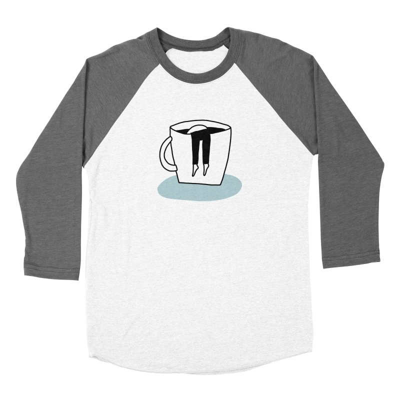 another coffee nap Women's Longsleeve T-Shirt by dorobot