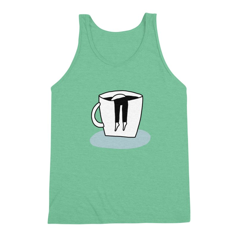 another coffee nap Men's Triblend Tank by dorobot
