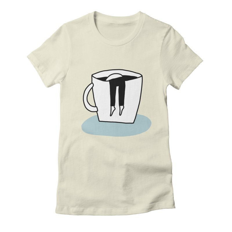 another coffee nap Women's T-Shirt by dorobot