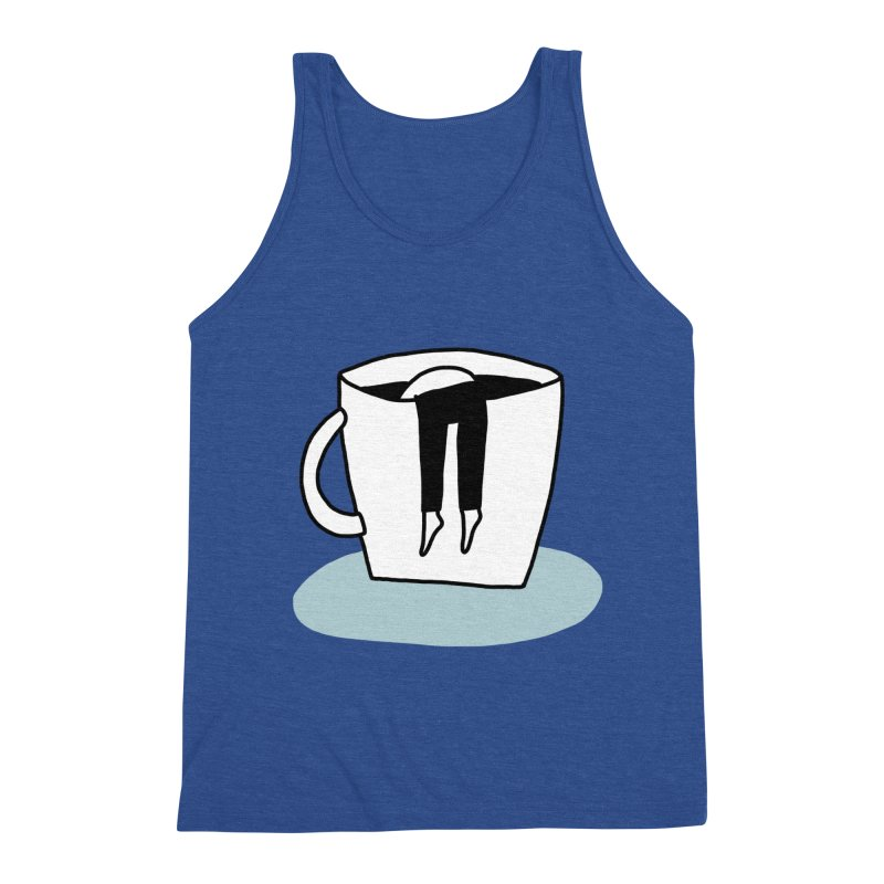 another coffee nap Men's Tank by dorobot