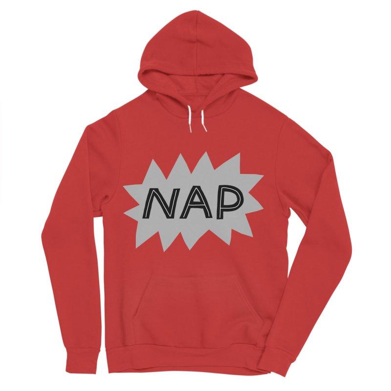 HAVE A NAP! Women's Sponge Fleece Pullover Hoody by dorobot
