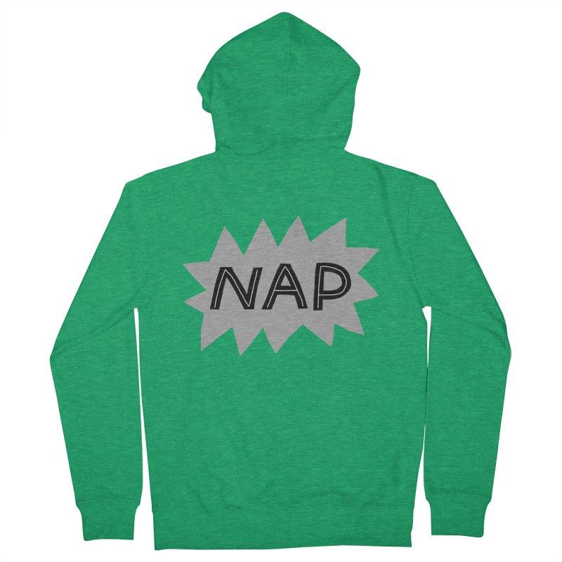 HAVE A NAP! Women's Zip-Up Hoody by dorobot