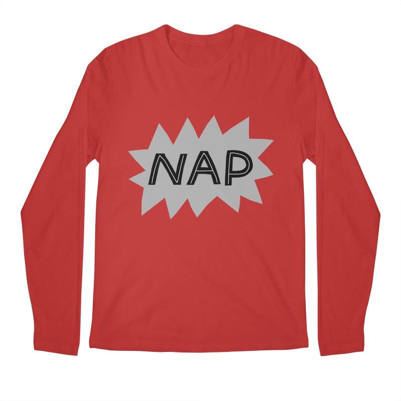 HAVE A NAP! Men's Regular Longsleeve T-Shirt by dorobot