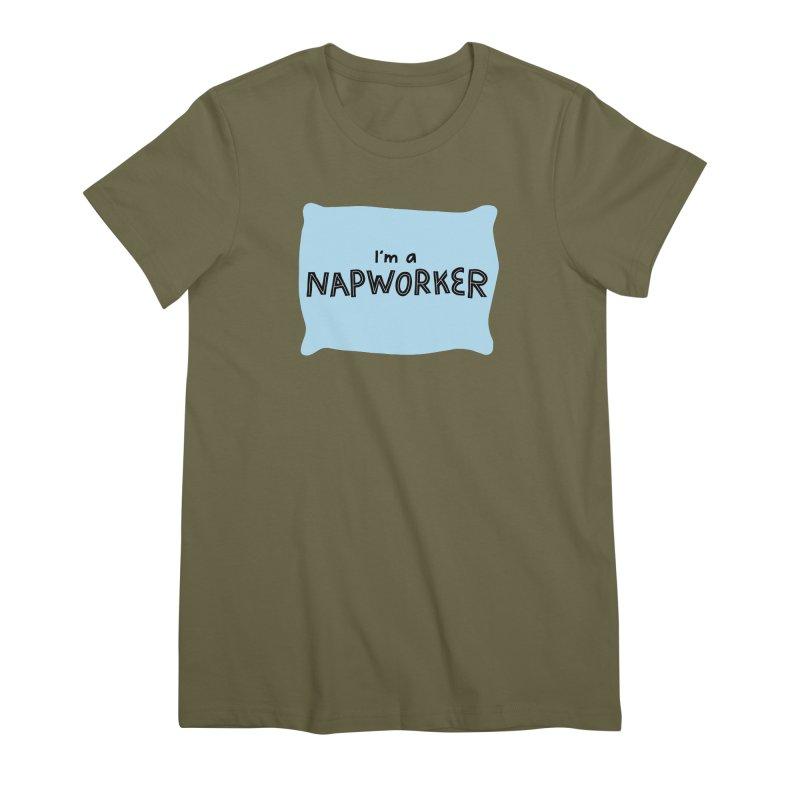 NAPworker Women's Premium T-Shirt by dorobot