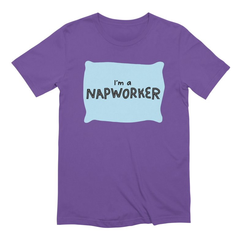 NAPworker Men's Extra Soft T-Shirt by dorobot