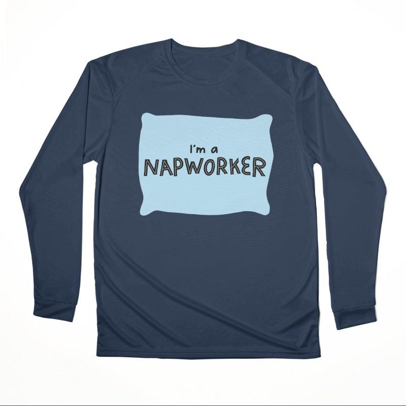 NAPworker Women's Performance Unisex Longsleeve T-Shirt by dorobot