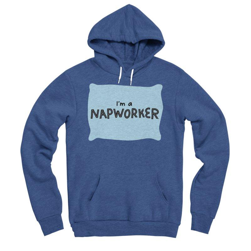 NAPworker Women's Sponge Fleece Pullover Hoody by dorobot