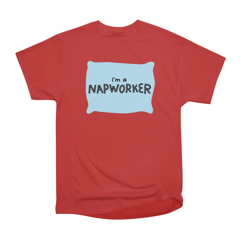 NAPworker Women's Heavyweight Unisex T-Shirt by dorobot
