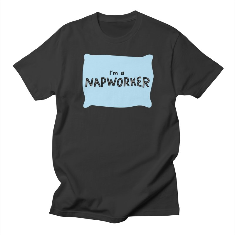 NAPworker Men's Regular T-Shirt by dorobot