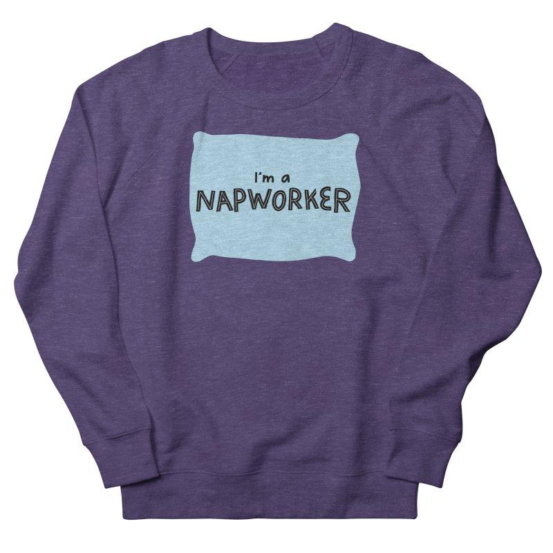 NAPworker Women's French Terry Sweatshirt by dorobot