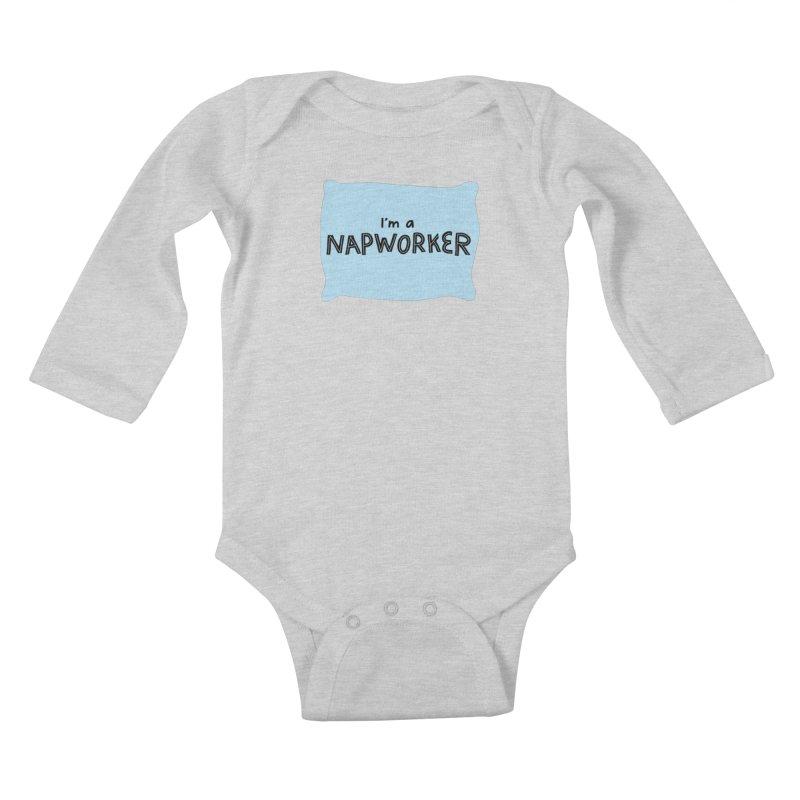NAPworker Kids Baby Longsleeve Bodysuit by dorobot