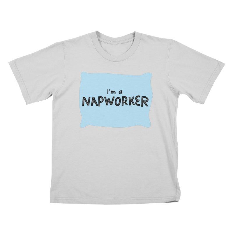 NAPworker Kids T-Shirt by dorobot