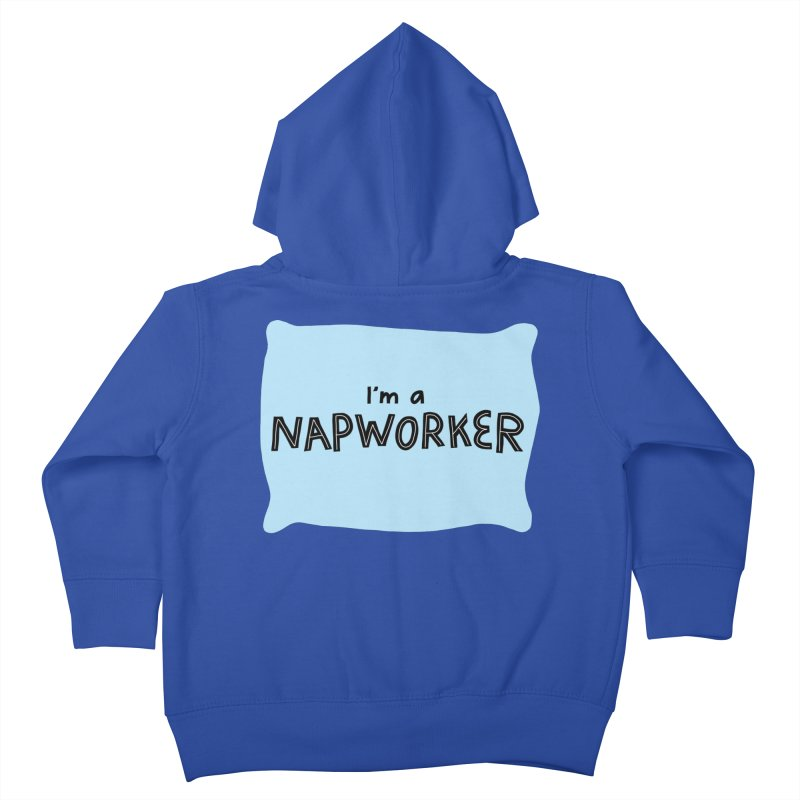 NAPworker Kids Toddler Zip-Up Hoody by dorobot