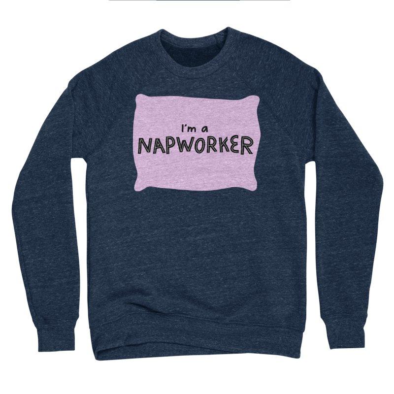 napworker Men's Sponge Fleece Sweatshirt by dorobot