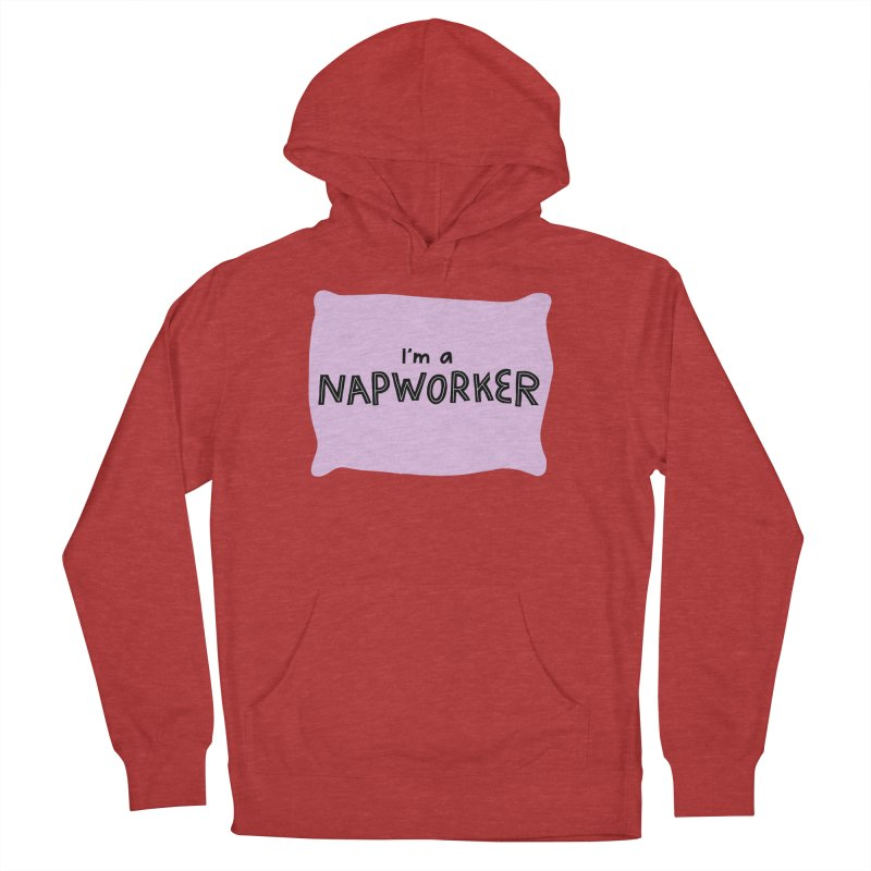 napworker Men's French Terry Pullover Hoody by dorobot