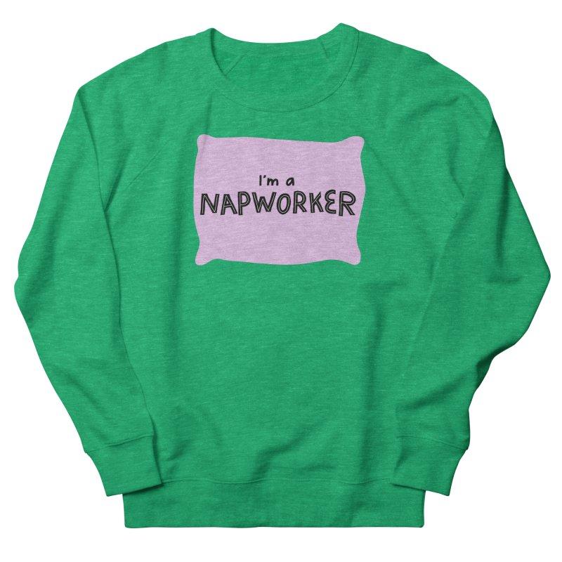 napworker Men's French Terry Sweatshirt by dorobot