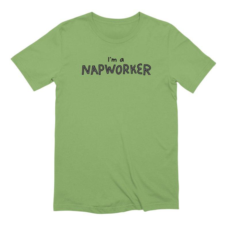 NAPworker Men's Extra Soft T-Shirt by dorobot