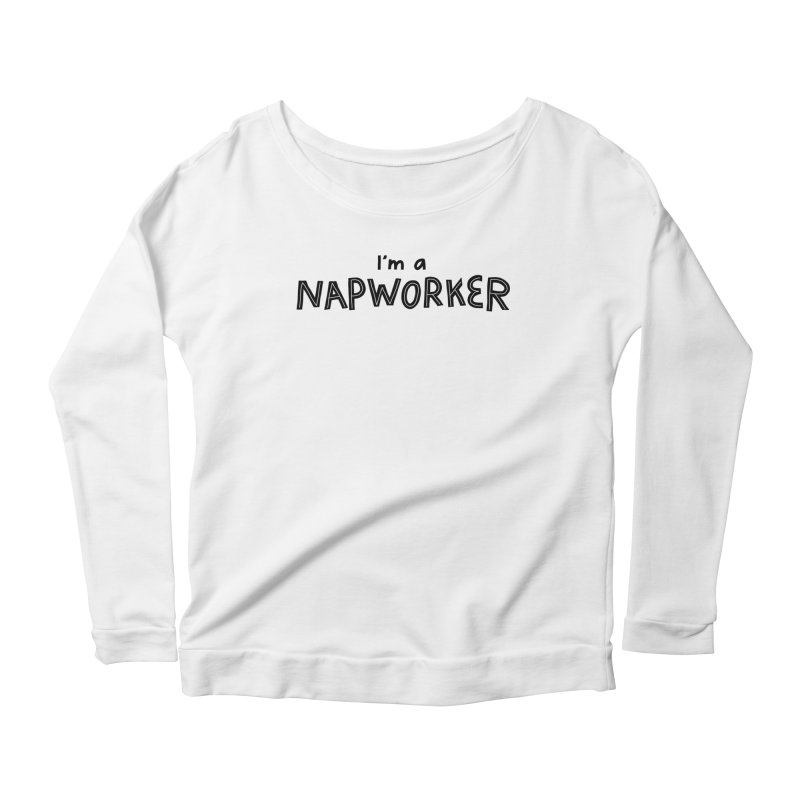 NAPworker Women's Scoop Neck Longsleeve T-Shirt by dorobot