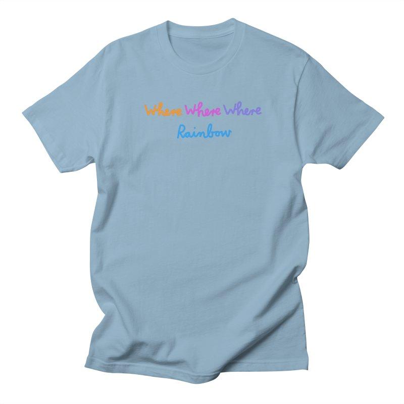 some WHERE over the ... Men's Regular T-Shirt by dorobot