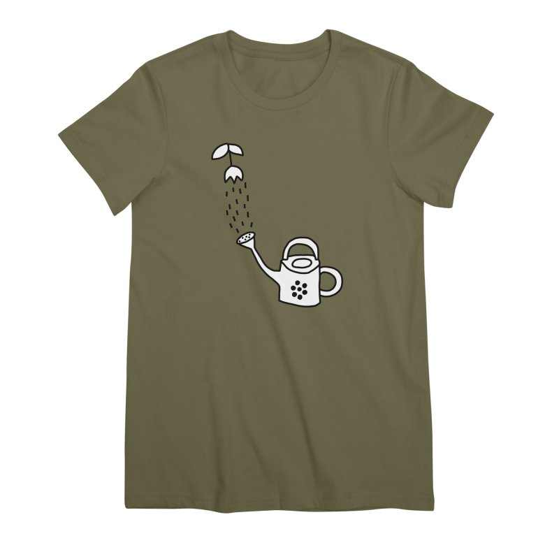 yes we WATERING can! Women's Premium T-Shirt by dorobot