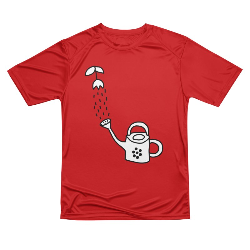 yes we WATERING can! Men's Performance T-Shirt by dorobot