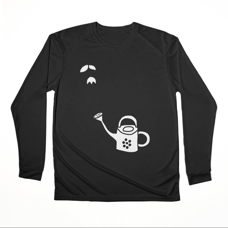 yes we WATERING can! Men's Performance Longsleeve T-Shirt by dorobot