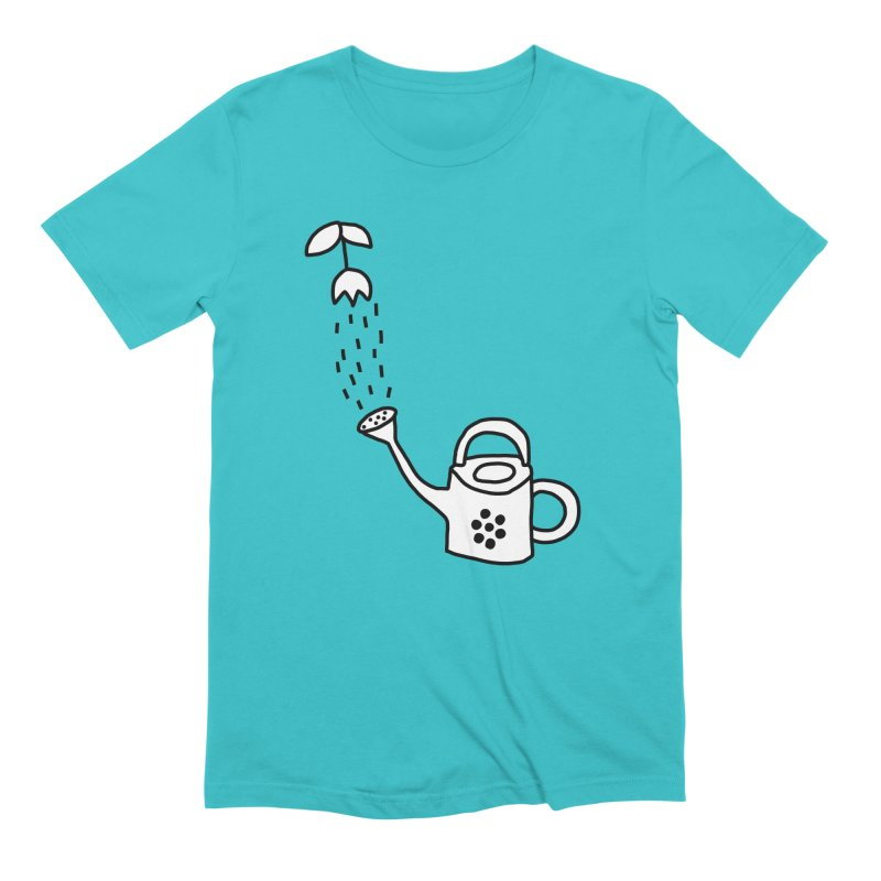 yes we WATERING can! Men's Extra Soft T-Shirt by dorobot