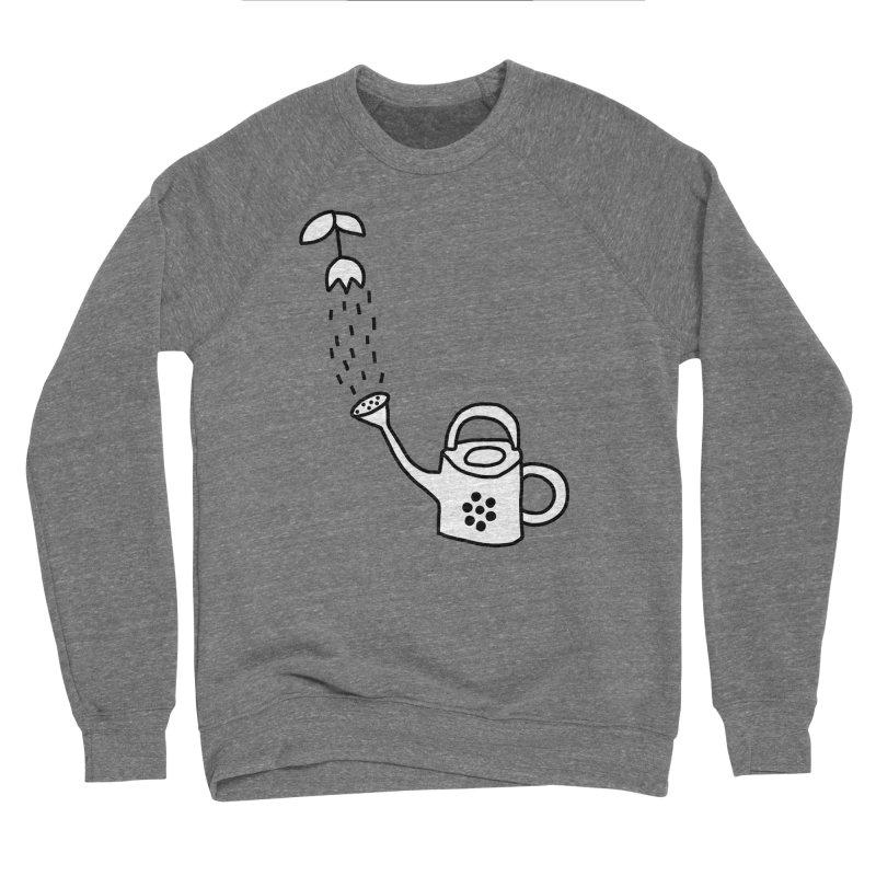 yes we WATERING can! Men's Sponge Fleece Sweatshirt by dorobot