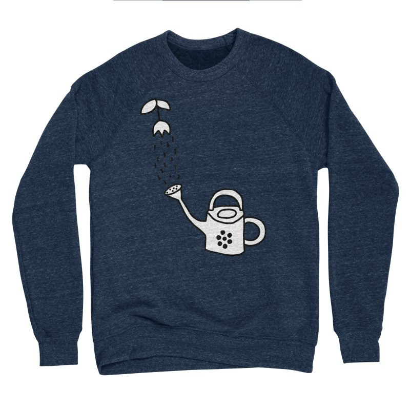 yes we WATERING can! Women's Sponge Fleece Sweatshirt by dorobot
